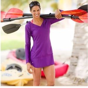 Athleta wick it swim cover up. UPF 50!